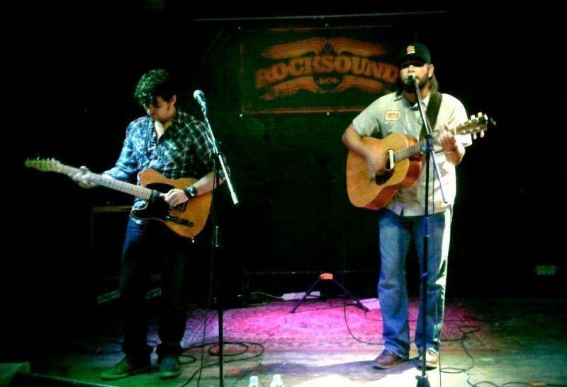 Drew Landry & Julian Primeaux. Sala Rocksound.