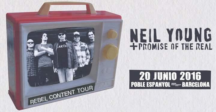 Neil Young anuncia también fecha en Barcelona