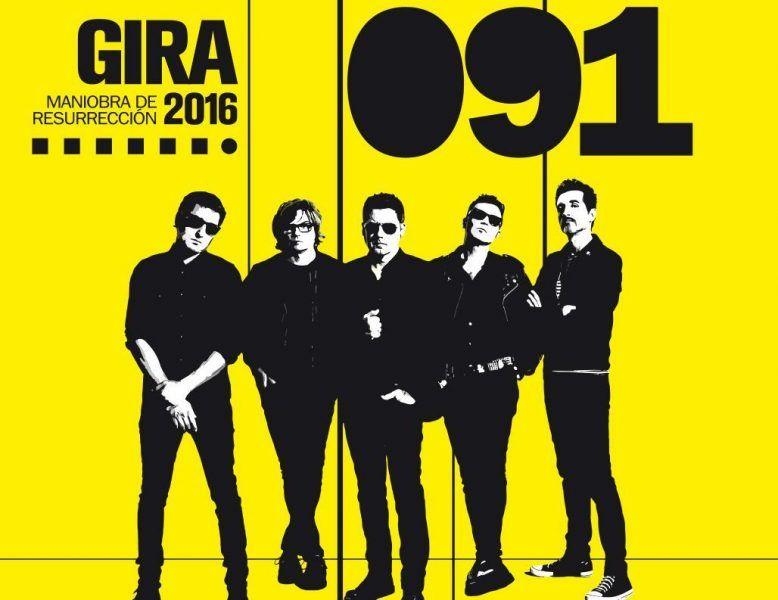 091 anuncian los últimos conciertos de su gira