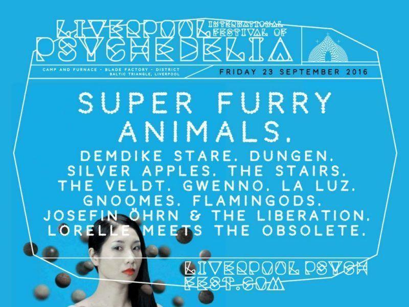 Liverpool Psych Festival: listos para la teletransportación