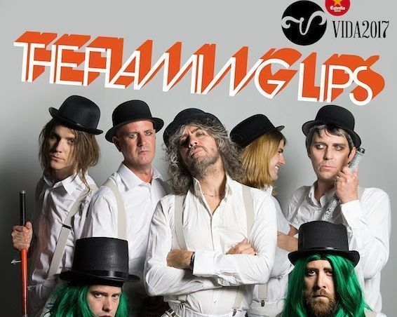 The Flaming Lips en el Vida Festival