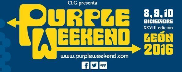 Ya tenemos cartel definitivo del Purple Weekend