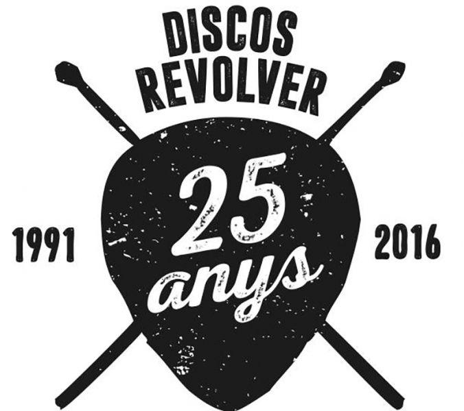 Discos Revolver, un cuarto de siglo sirviendo la mejor música.