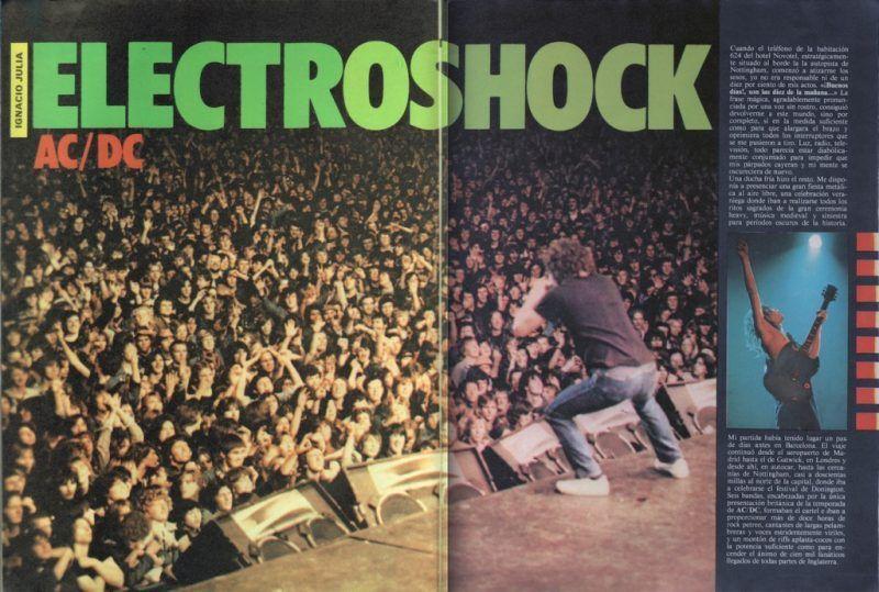 Electroshock:  Confesiones metálicas de un moderno antiguo