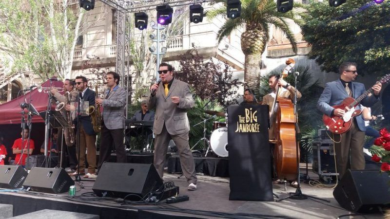 The Big Jamboree, Jardins del Palu Robert (Barcelona)