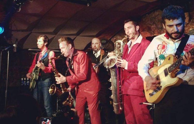Dani Nel·lo y los Saxofonistas Salvajes, Jamboree (Barcelona)