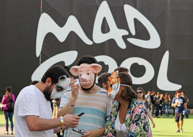 Mad Cool 2017, Música como refugio bajo la lluvia púrpura (Madrid)