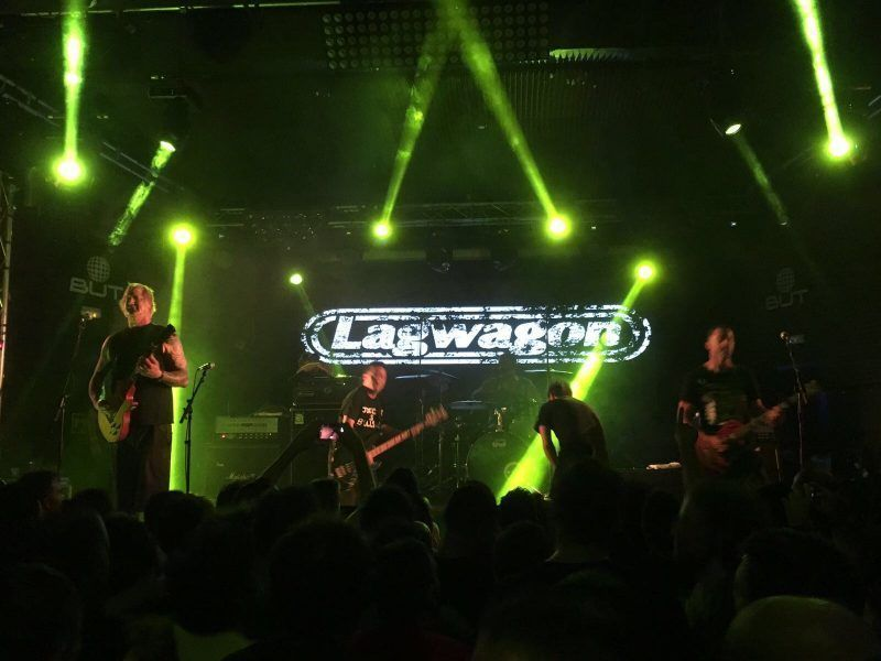 Lagwagon + Face to Face + G.A.S. Drummers, Sala But (Madrid)
