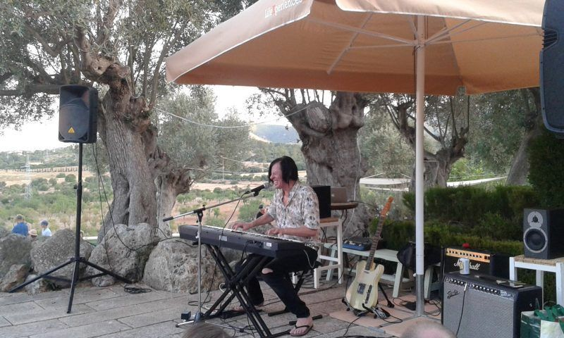 Ken Stringfellow,  Finca Line & Philipp, Esporles (Mallorca)