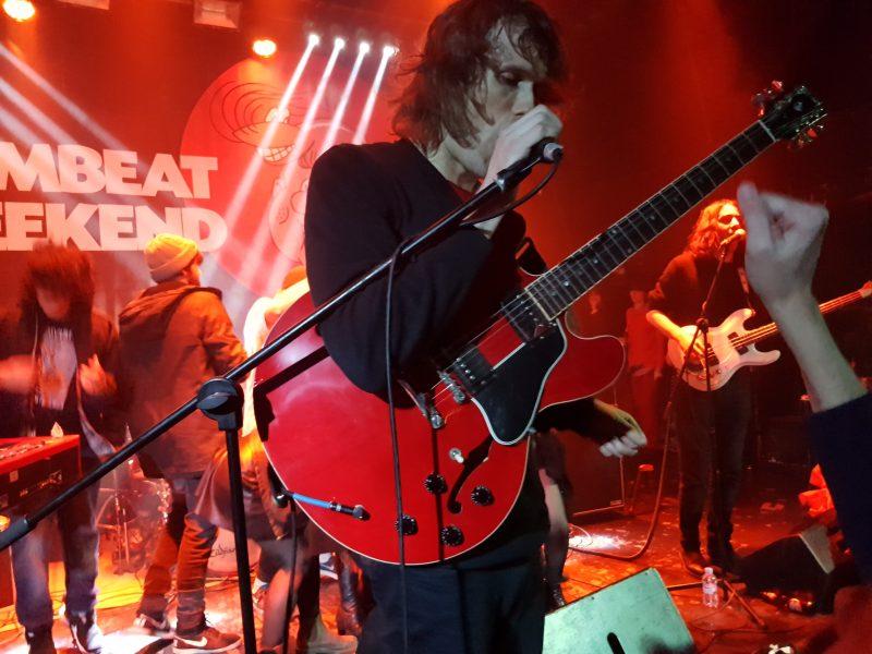 Gambeat – The Mystery Lights, The Living Eyes y Trinitat Nova – Upload (Barcelona)