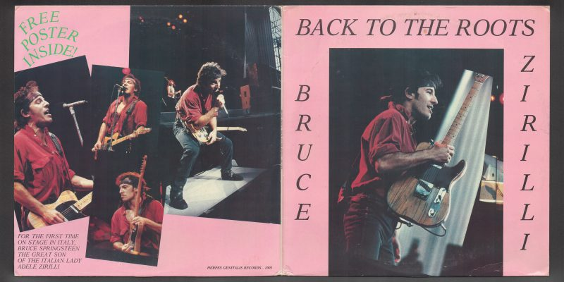 Bruce Springsteen – Back to the Roots  (Herpes Genitalis Records)