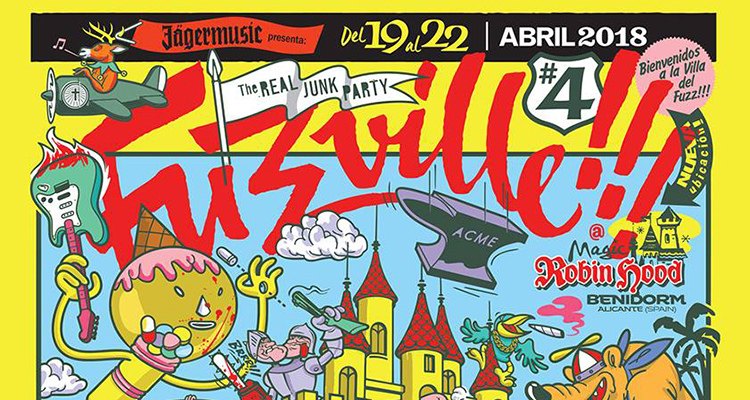 Concierto de la semana: Fuzzville 2018