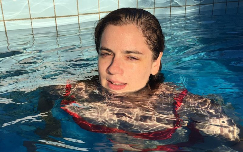 Marina Gallardo, el infinito en sus manos