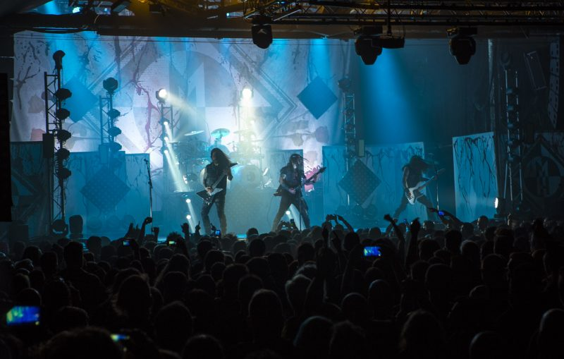 Machine Head, Razzmatazz (Barcelona)
