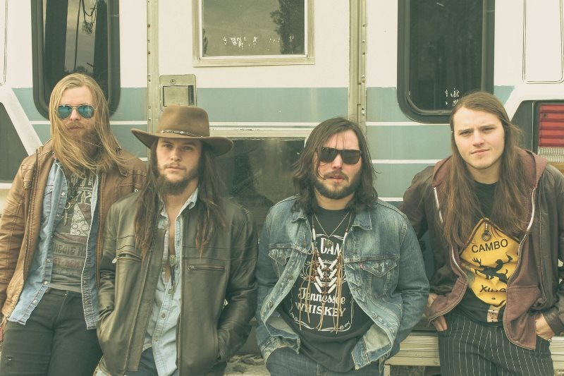 Them Dirty Roses, sangre joven para el rock sureño de gira por España
