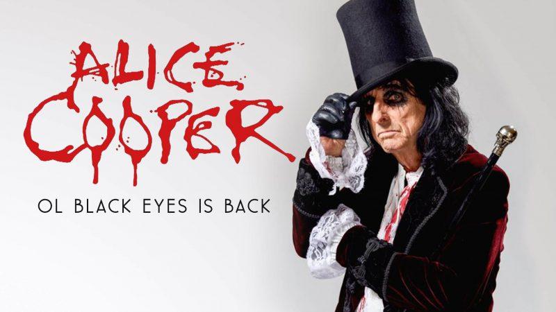 Alice Cooper en Madrid y Barcelona, septiembre 2019